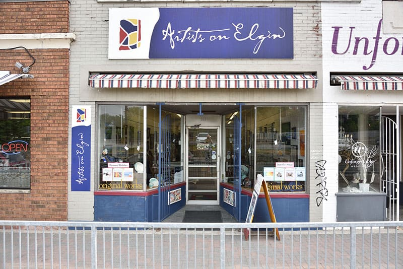 Image of Artists on Elgin Storefront